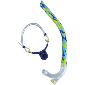 speedo Centre Snorkel mash up turquoise/lime punch